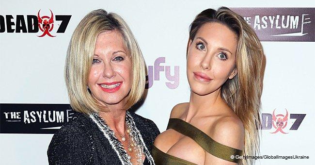 La única hija de Olivia Newton-John ya está grande, pero sigue siendo muy unida con su famosa mamá