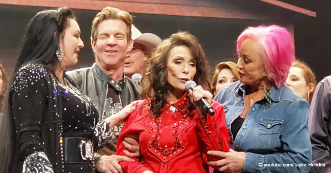 Loretta Lynn Sings at a Birthday Concert in Her First Public Performance since Suffering a Stroke