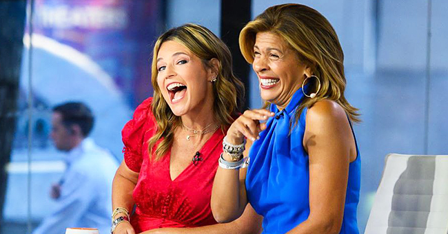 Hoda Kotb Reunites with Savannah Guthrie on 'Today' Show after Adopting Baby Hope Catherine