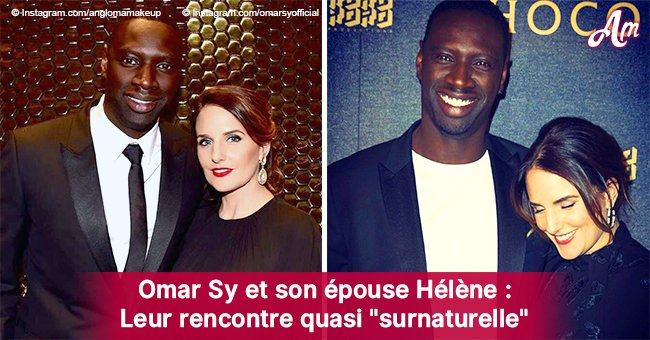 """Omar Sy: l'histoire du coup de foudre """"surnaturel"""" avec sa femme Helene"""