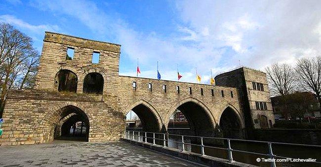'Сe vandalisme ' : La colère des gens suite au projet de détruire le pont médiéval de Tournai