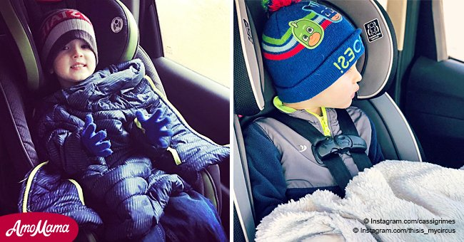Mother posts an important reminder of why babies shouldn't wear a winter coat in the car