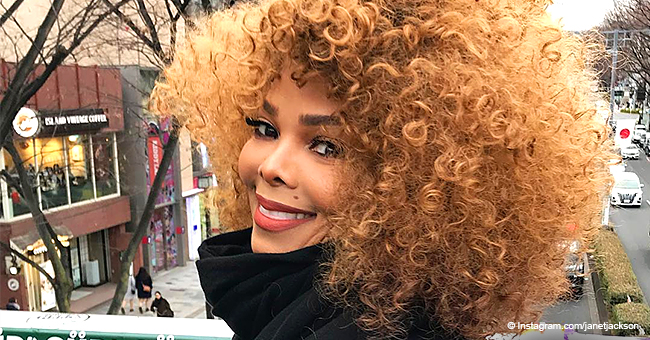 Janet Jackson Defies Her 52 Years, Grabs Lots of Attention Flaunting Splendid Red Curls in New Pic