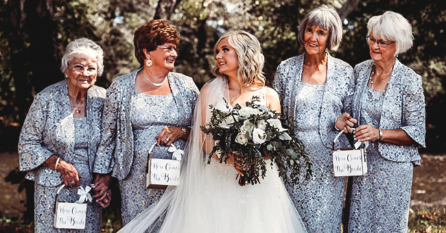 Tennessee Bride Lyndsey Raby Asked Her 4 Grandmothers to Be Her Flower Girls
