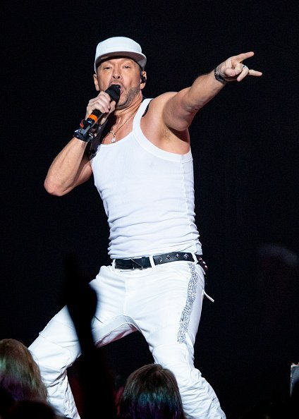 Donnie Wahlberg at Little Caesars Arena on June 18, 2019 in Detroit, Michigan   Photo: Getty Images