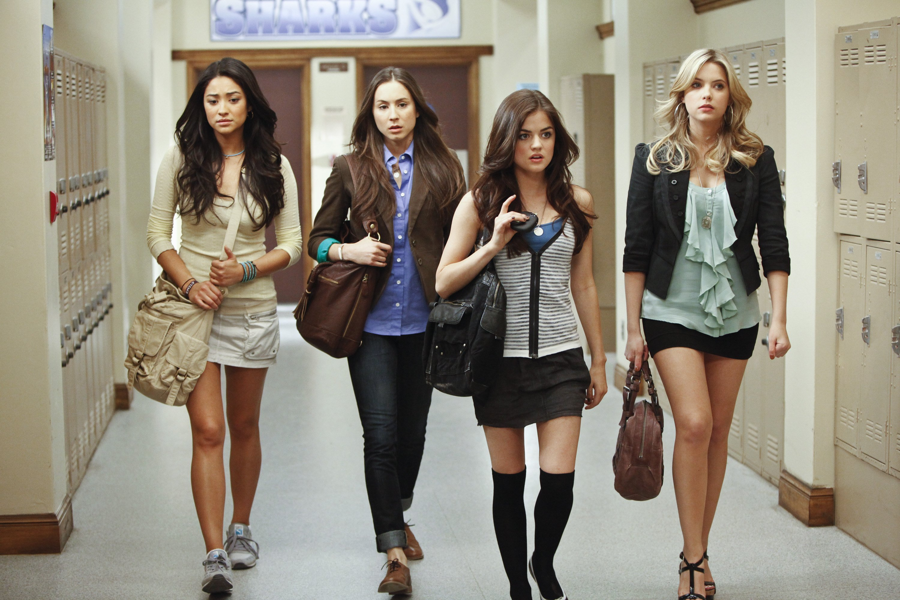"""ABC Family's """"Pretty Little Liars"""" - Season One Photo by Jamie Trueblood/Disney General Entertainment Content, 2010 