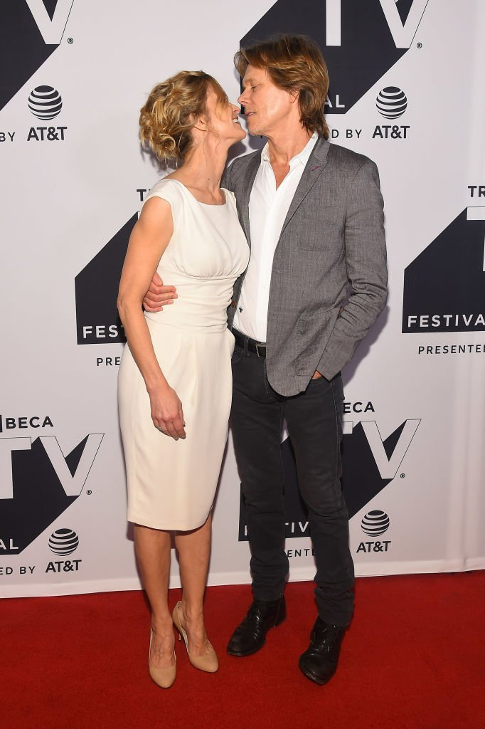 Kyra Sedgwick and Kevin Bacon attend the Tribeca TV Festival in New York City on September 24, 2017 | Photo: Getty Images
