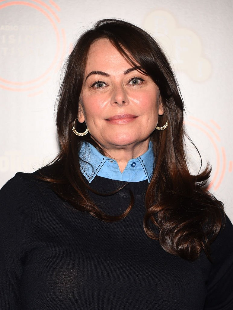 Polly Walker en una sesión de fotos para Line of Duty. | Foto: Getty Images