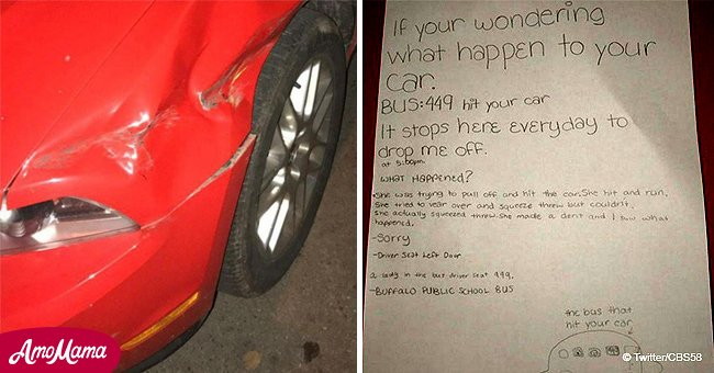 11-year-old left note on windshield to help restore justice