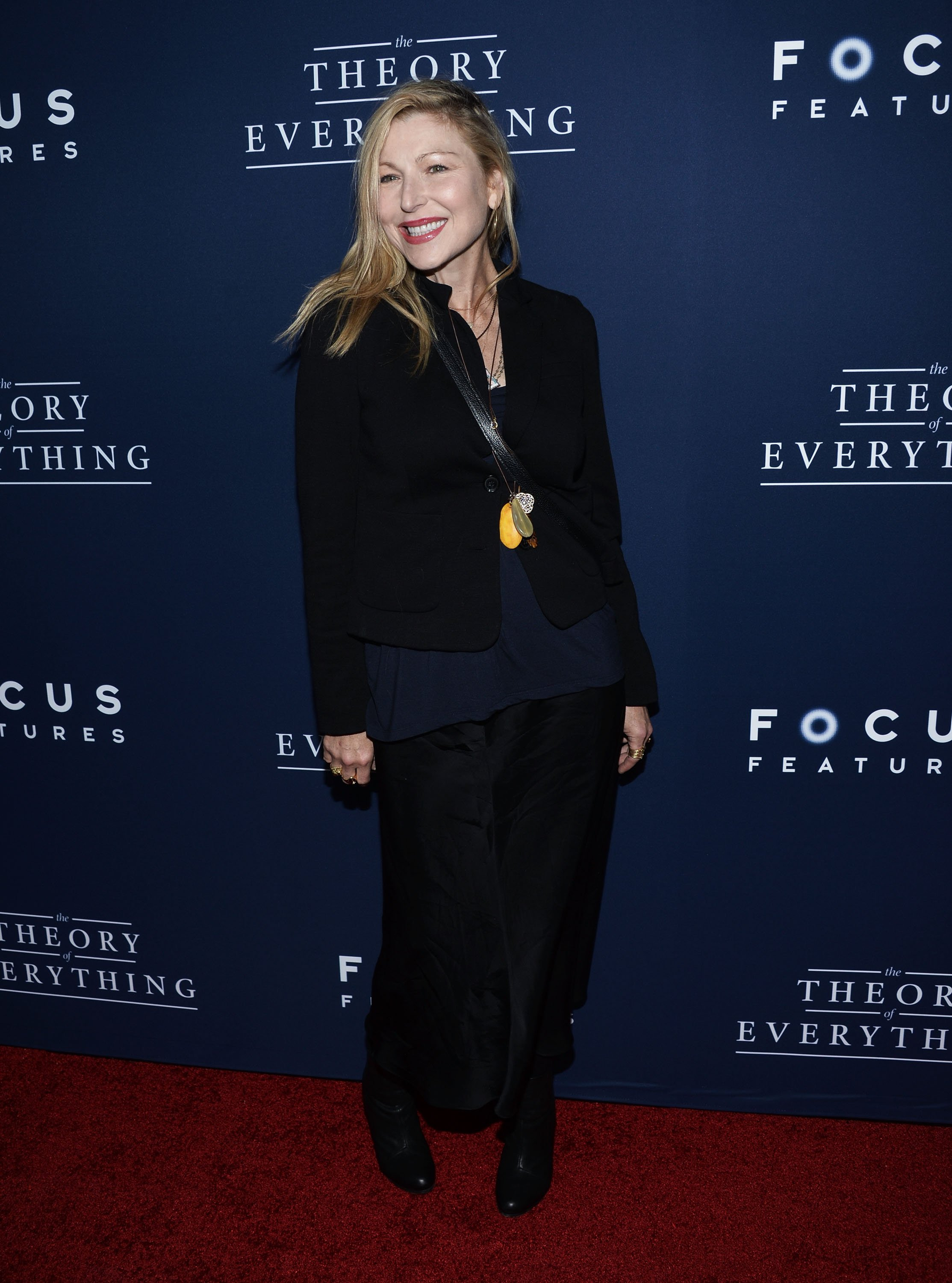 "Tatum O'Neal arrives at the Los Angeles premiere of ""The Theory Of Everything"" on October 28, 2014 