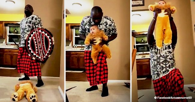 The story behind video of KC dad who staged his version of 'The Lion King' starring his baby girl