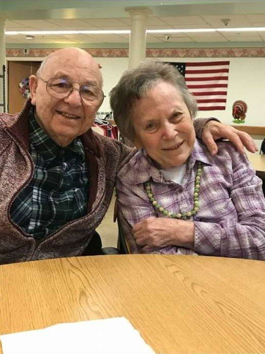 Warren and Joan Chapple on their 70th wedding anniversary in November. | Photo: Times Union