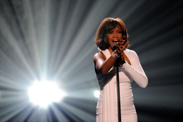 Whitney Houston at the 2009 American Music Awards at Nokia Theatre L.A. Live   Photo: Getty Images