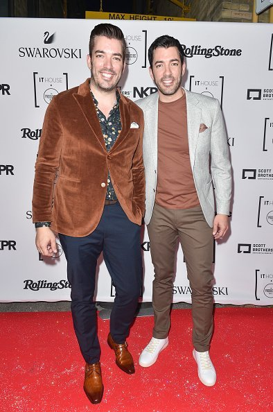 Jonathan Scott and Drew Scott at the IT HOUSE x PRODUCERS BALL 2018 on September 7, 2018 in Toronto, Canada | Photo: Getty Images