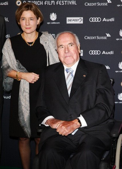 Heike Kohl-Richter, Helmut Kohl, Zürich Film Festival, 2013 | Quelle: Getty Images