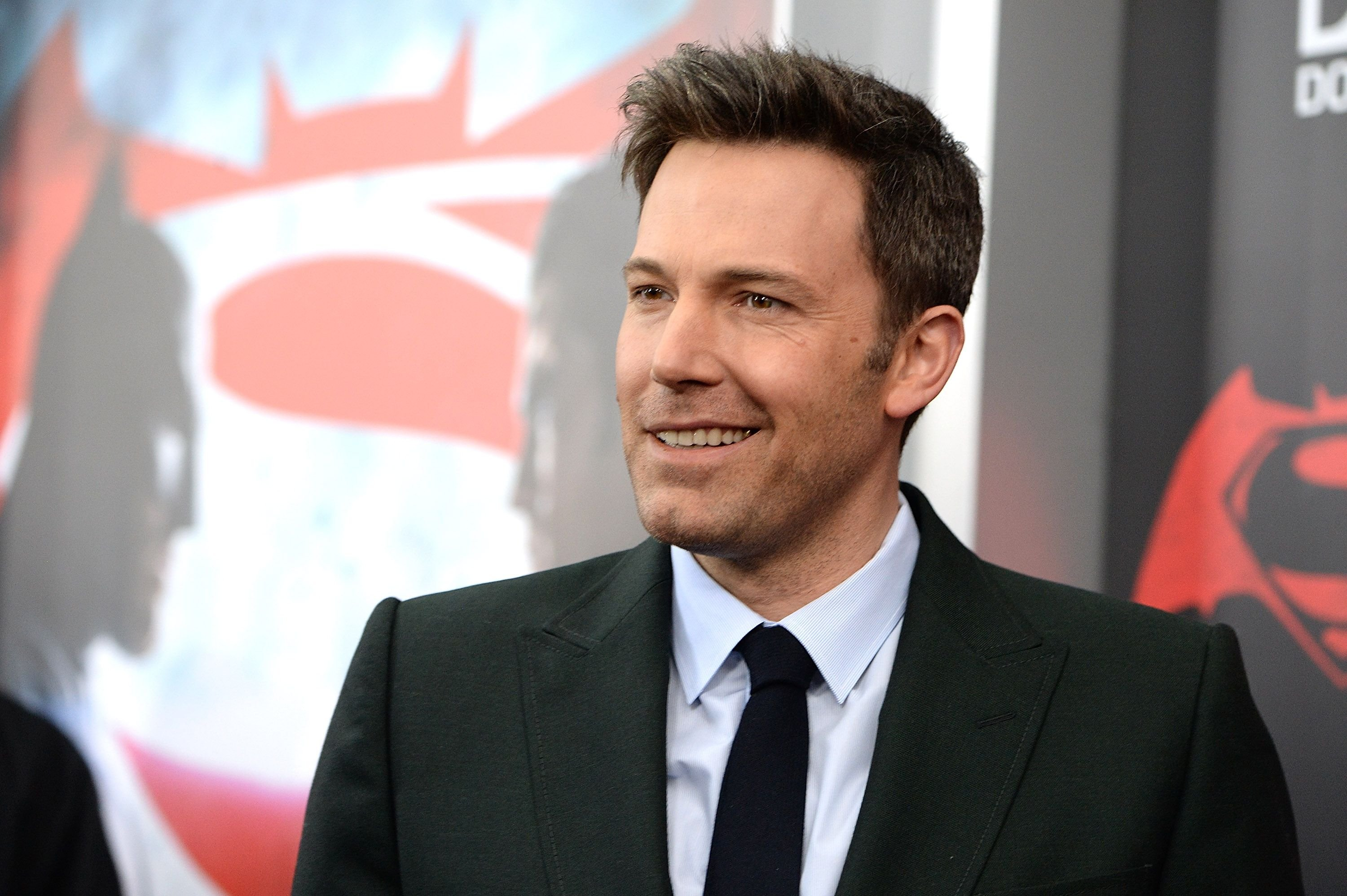"""Ben Affleck at the premier of """"Batman V Superman: Dawn Of Justice"""" in 2016 in New York City 