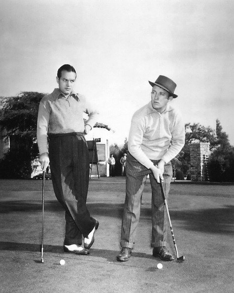 Bob Hope and Bing Crosby pictured in 1940.   Photo: Getty Images