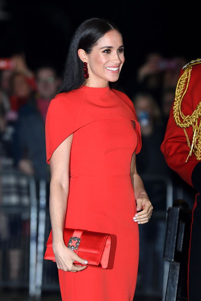 Meghan Markle at the Mountbatten Festival of Music at Royal Albert Hall on March 07, 2020 | Getty Images