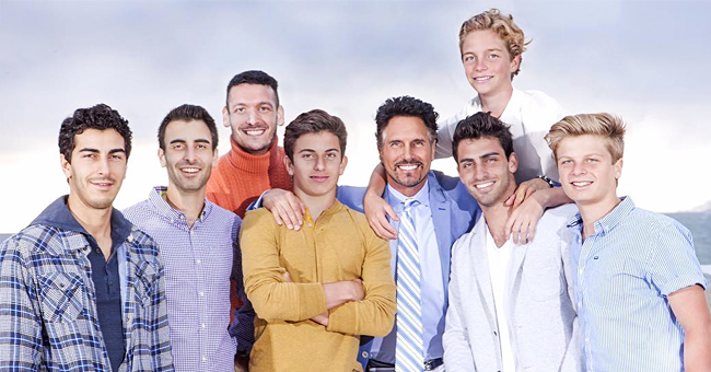 Don Diamont of 'Young and the Restless' Proudly Raises Seven Sons