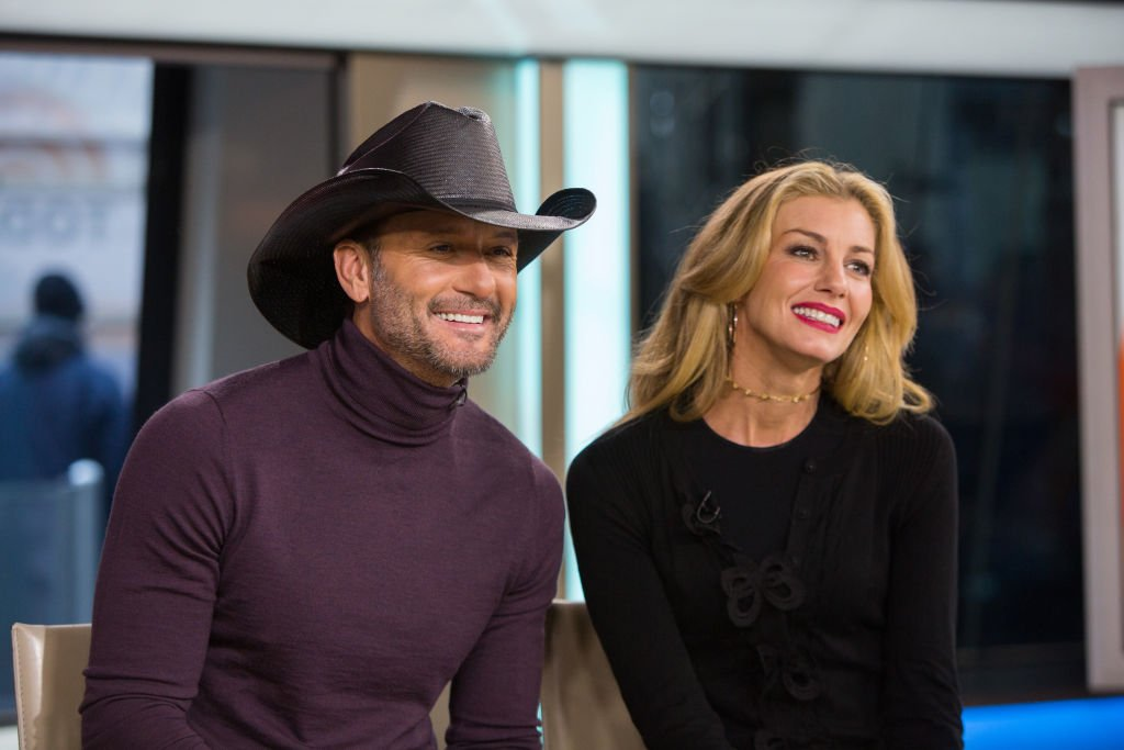 Tim McGraw and Faith Hill on the Today Show on November 17, 2017 | Photo: Getty Images