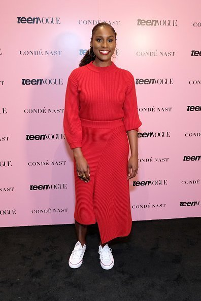Actress Issa Rae attends the 2019 Teen Vogue Summit at Goya Studios in Hollywood, California | Photo: Getty Images