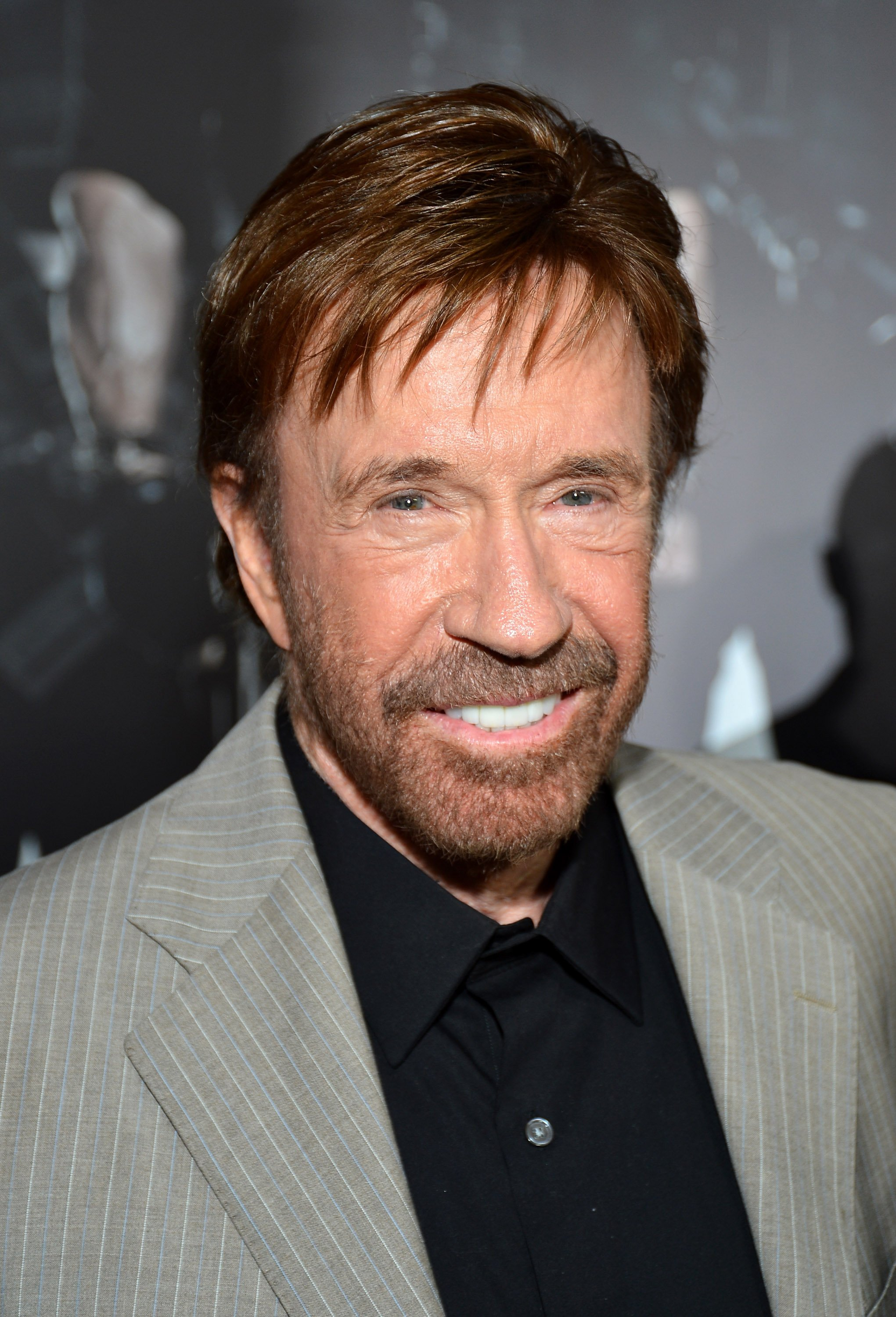 "Chuck Norris attends the ""The Expendables 2"" premiere on August 15, 2012, in Hollywood, California. 