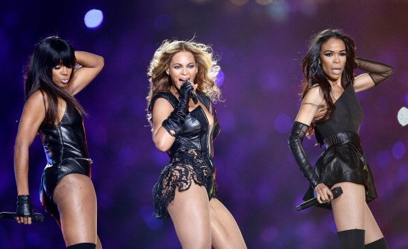 Kelly Rowland, Beyonce and Michelle Williams perform during the Pepsi Super Bowl  | Photo: Getty Images