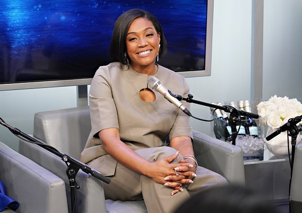 Tiffany Haddish poses for a photo during SiriusXM's Town Hall with the cast of 'Like A Boss' hosted by Hoda Kotb at the SiriusXM Studio | Photo: Getty Images