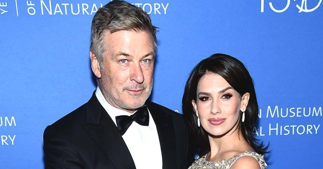 Alec Baldwin's Wife Hilaria Pokes Fun at Her Husband's Closed-Eyes Pose in Christmas Family Photo with Santa Claus