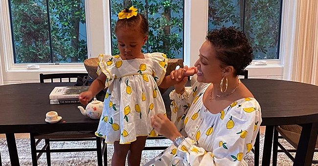 Tia Mowry Shows Her Daughter Cairo's Pretty White Outfit for 2nd Birthday in a Throwback Video