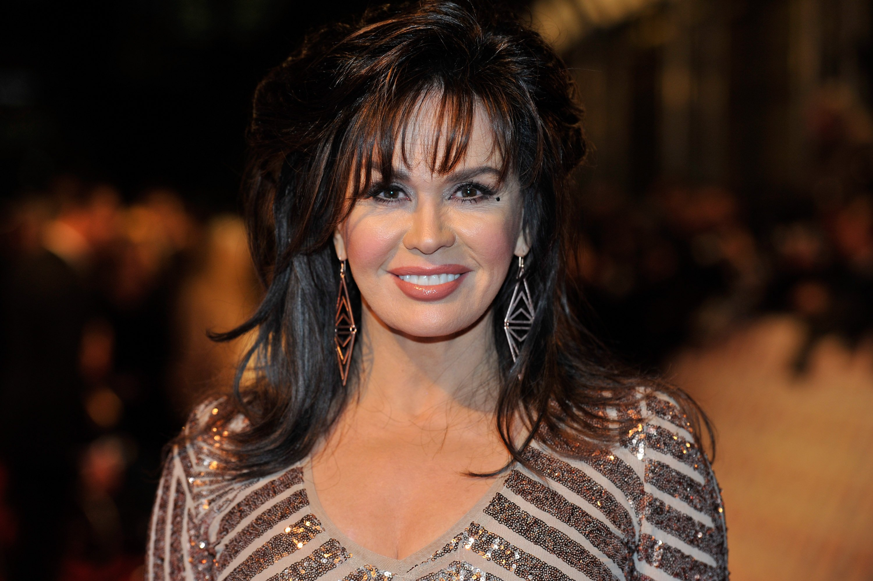 Marie Osmond pictured at the National Television Awards at 02 Arena in London, England in 2013.   Photo: Getty Images