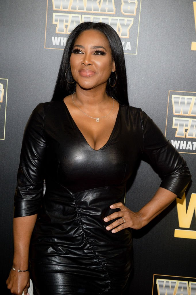 """Kenya Moore attends the WeTV """"Waka & Tammy: What The Flocka"""" premiere at Republic Lounge on March 10, 2020 