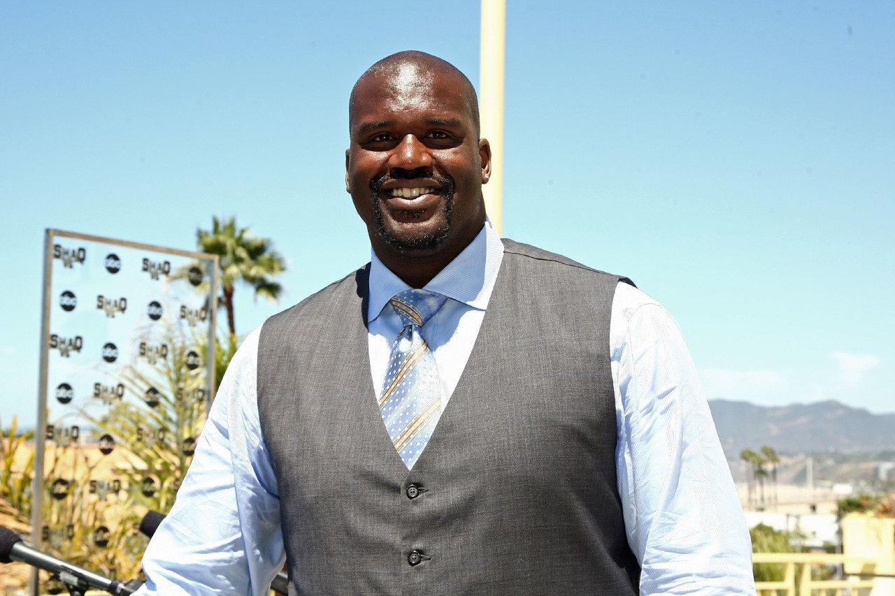 """Shaquille O'Neal at a press conference for ABC's new reality show """"Shaq Vs."""" on August 5, 2009 in Santa Monica, California   Photo: Getty Images"""