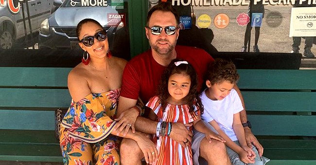 Tamera Mowry Makes Colorful Easter Eggs with Husband Adam Housley and Kids
