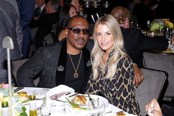 Eddie Murphy and Paige Butcher attend the 19th Annual Harold and Carole Pump Foundation Gala at The Beverly Hilton Hotel  | Photo: Getty Images