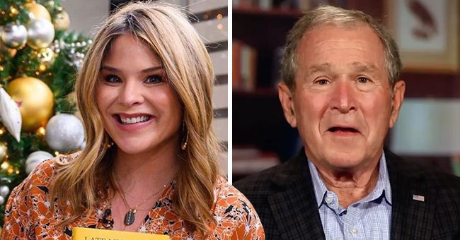'Today' Host Jenna Bush Hager Reveals Portraits George W Bush Painted of 1-Year-Old Son Henry