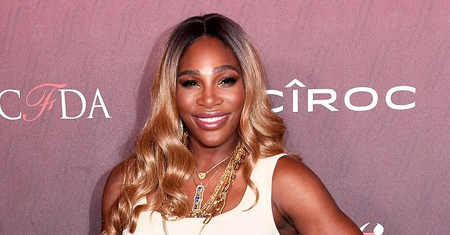 Serena Williams' Daughter Rocks Floral Dress and Poses with a Balloon during Family Italy Trip
