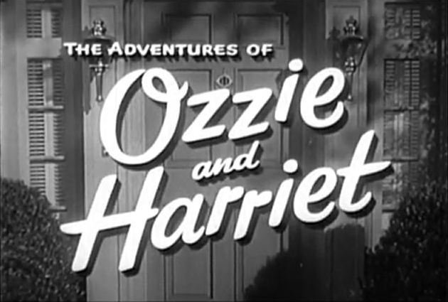 """""""The Adventures of Ozzie and Harriet"""" title card. 