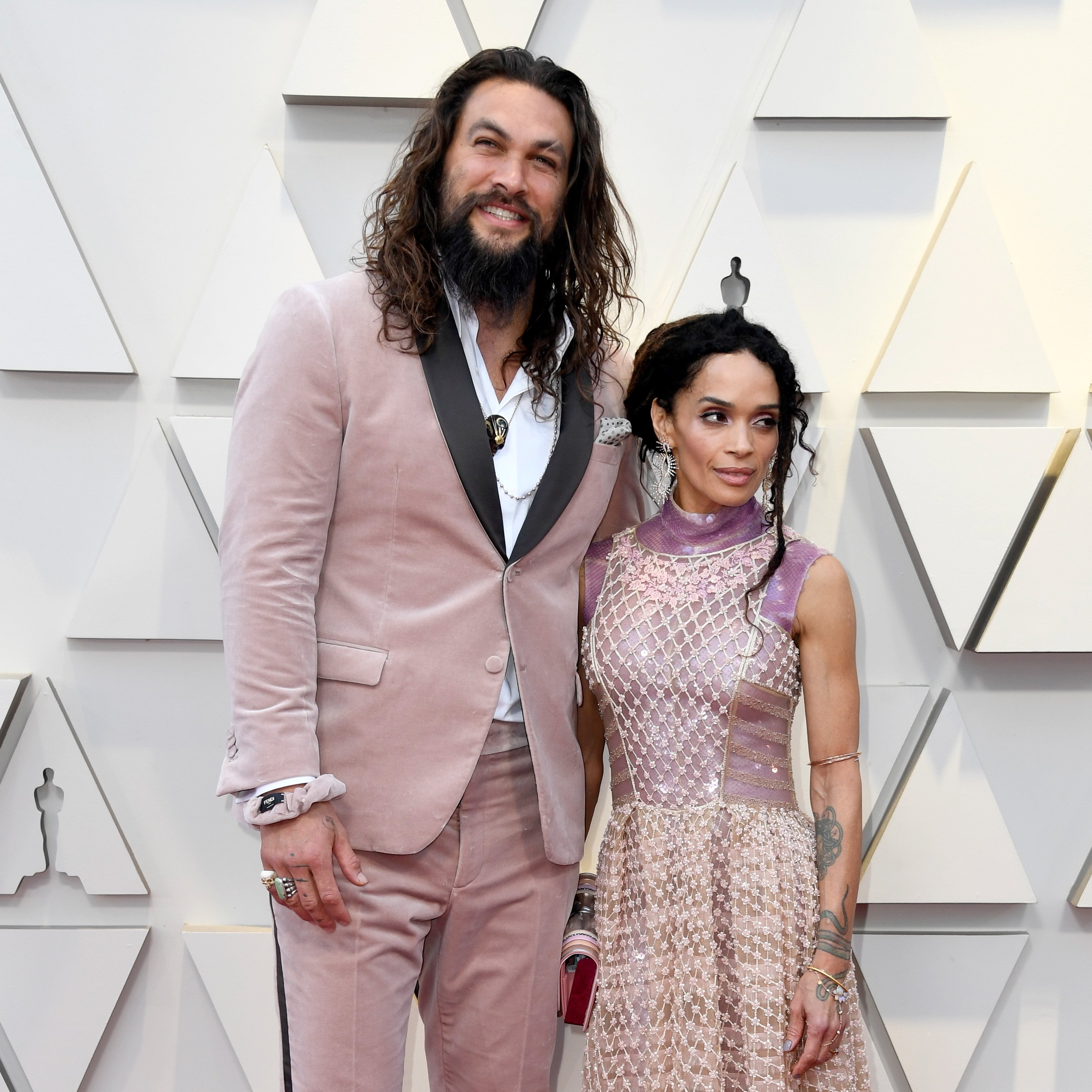 Jason Momoa and wife Lisa Bonet attend the 2019 Oscars | Photo: Getty Images