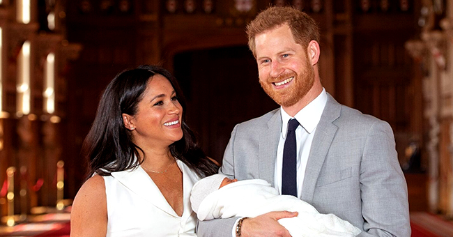 Meghan Markle's Baby Archie Is Reportedly a Happy Baby with Puffy Legs & Tufts of Reddish Hair