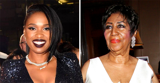 Jennifer Hudson of 'Dreamgirls' Spotted for the First Time as Aretha Franklin While Filming 'Respect' Biopic