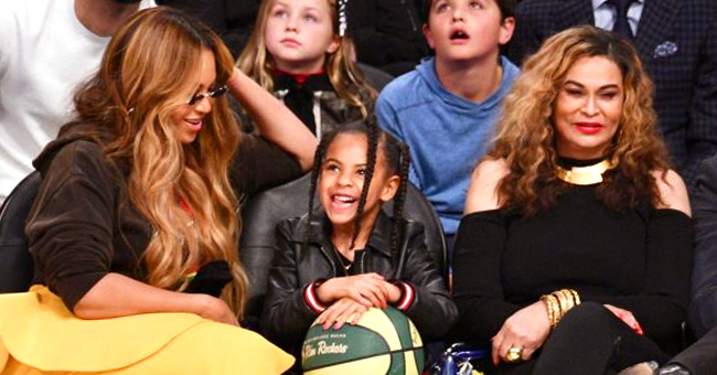 Tina Lawson Gushes over Granddaughter Blue Ivy & Says She's Quite a Makeup Artist