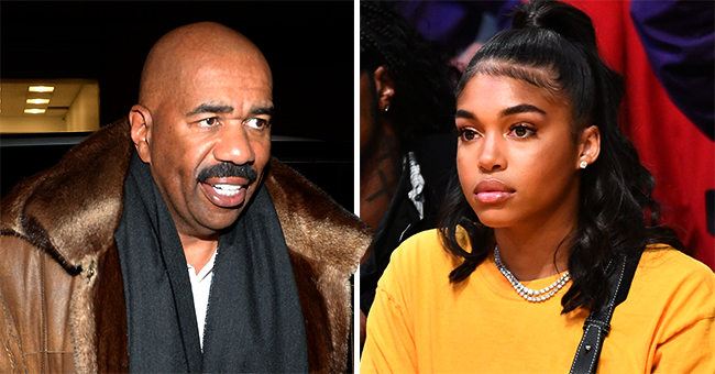 Steve Harvey Resurfaces on Social Media with Halloween Pumpkin after Daughter Lori's Hit-And-Run