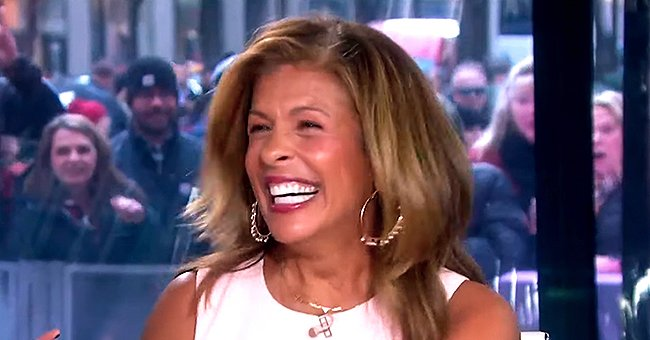 Hoda Kotb Gushes over Her Massive Sapphire and Diamond Engagement Ring after Revealing Her Engagement on the 'Today' Show