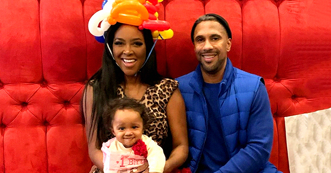 Kenya Moore of RHOA Slammed for Not Letting Other Men Hold Baby Brooklyn at Daughter's Barbie-Themed Party