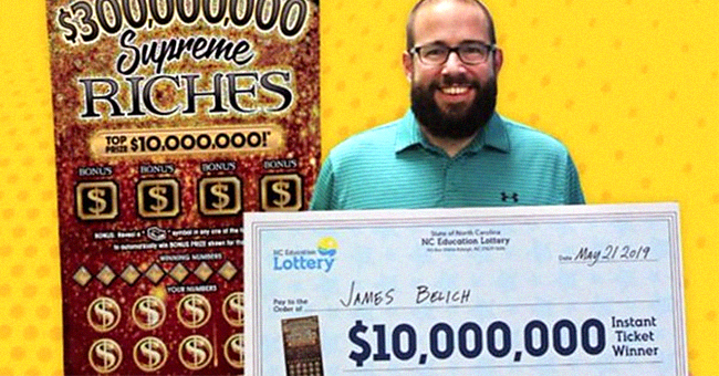 South Carolina Dad Buys Lottery Ticket on Lunch Break & Wins $10 Million