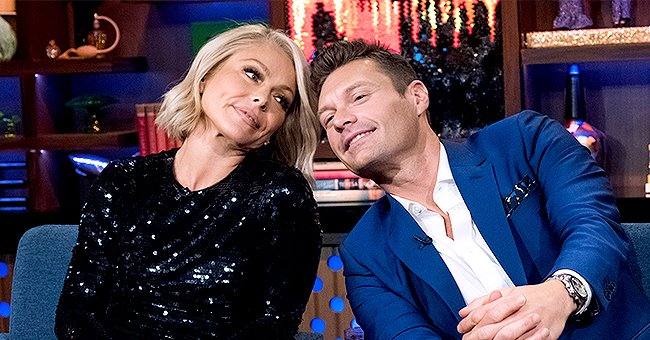 Kelly Ripa Says She Quit Drinking around the Time Ryan Seacrest Became Her 'Live' Co-Host & He Jokingly Takes Credit