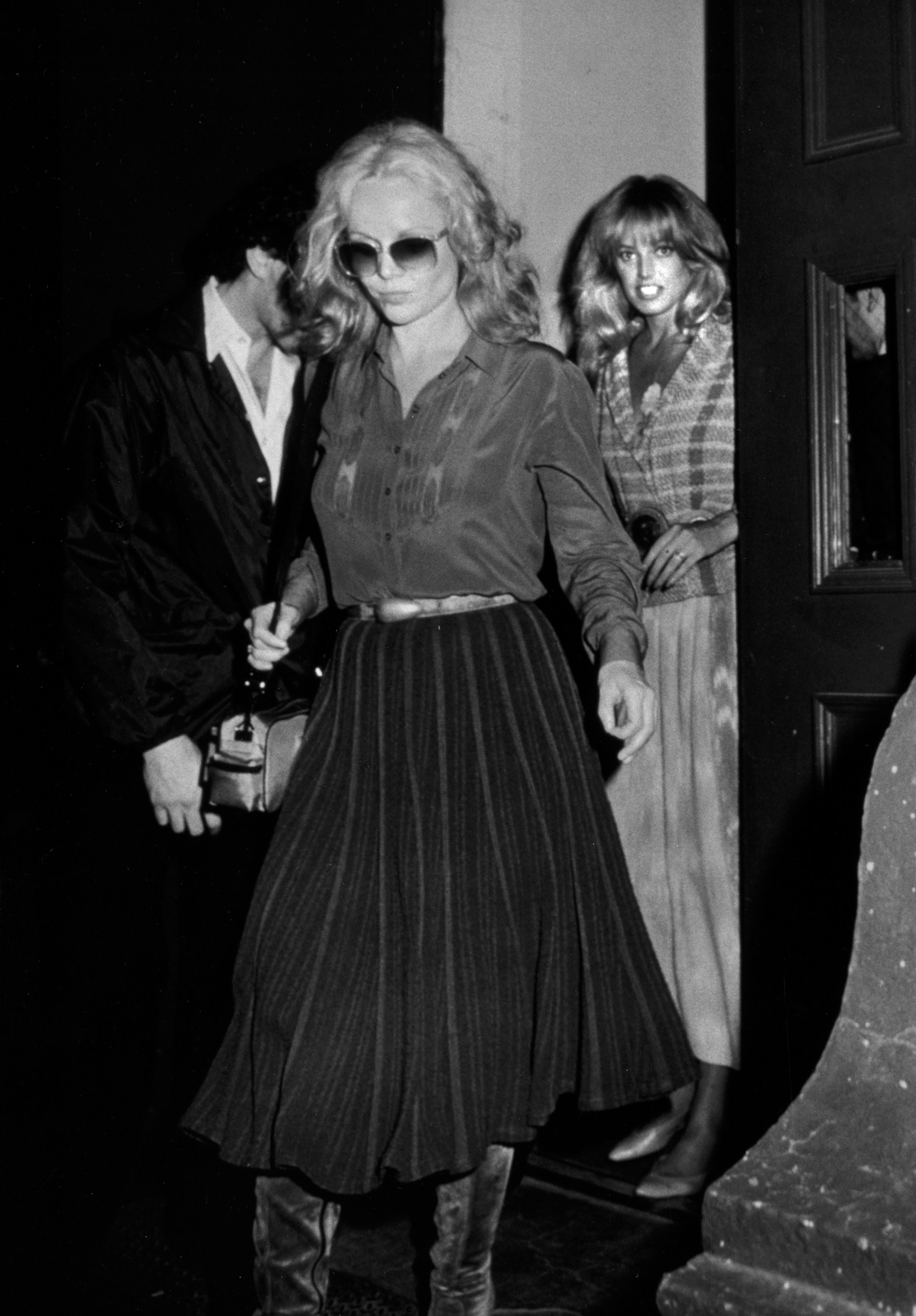Tuesday Weld and Susan Anton at Carnegie Hall, New York City on June 6, 1983. | Source: Getty Images