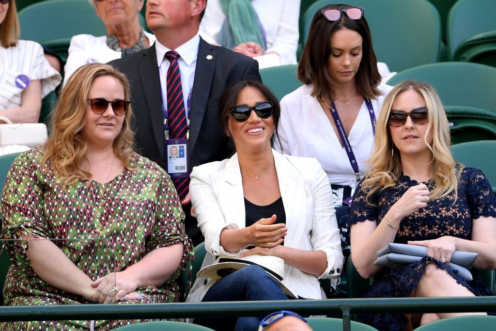 Meghan Markle, Duchess of Sussex at Wimbledon 2019 in London on July 04, 2019. |Photo: Getty Images