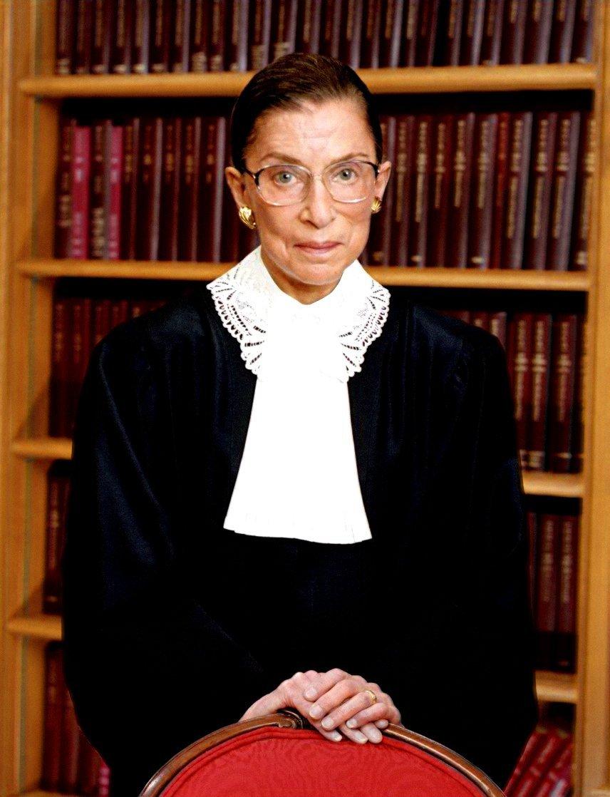 Ruth Bader Ginsburg.   Source: WikimediaCommons